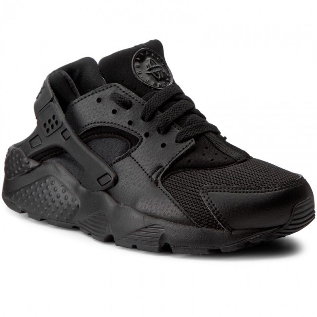low priced 93bb4 329cd Buty NIKE - Huarache Run (GS) 654275 016 Black/Black/Black ...