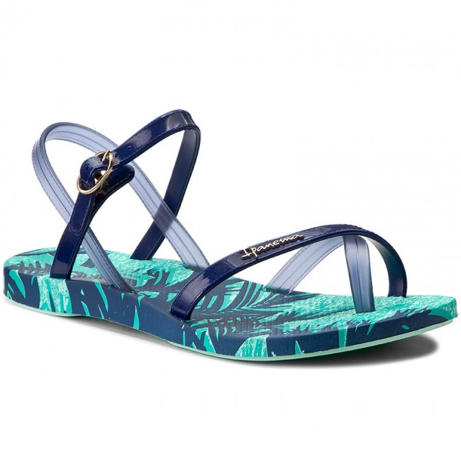 a4f198223 Japonki IPANEMA - Fashion Sand IV Fem 81929 Green Blue 22497 ...
