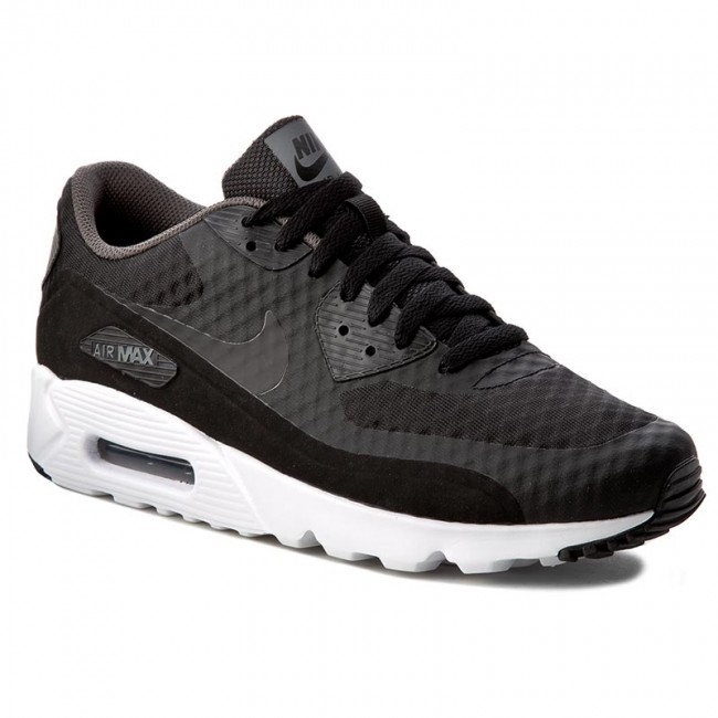 Buty NIKE - Air Max 90 Ultra Essential 819474 013 Black Black Dark Grey  5981a34ad39