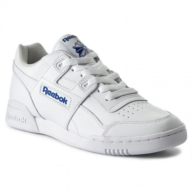 1c36edbd6ded65 Buty Reebok - Workout Plus 2759 Wht Royal - Sneakersy - Półbuty ...