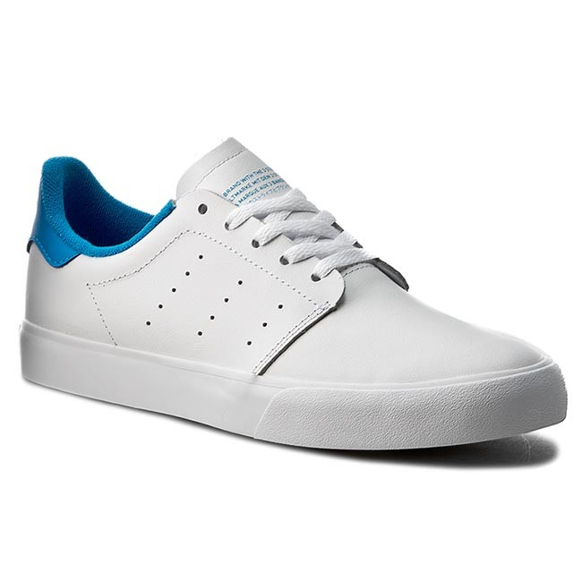 Buty adidas - Seeley Court BB8587 Ftwht/Ftwht/Brblue