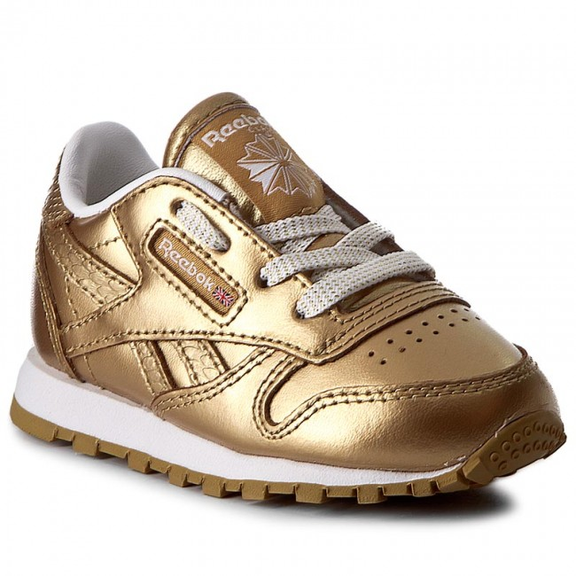 213a5455cb1f5 Buty Reebok - Classic Leather Metallic BS7458 Brass/White ...