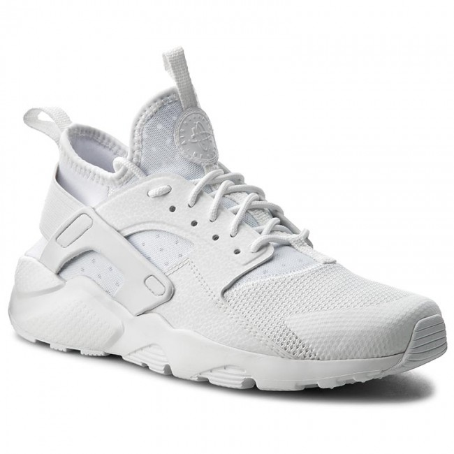 Buty NIKE - Air Huarache Run Ultra Gs 847569 100 White White White ... dfcc4f0107f