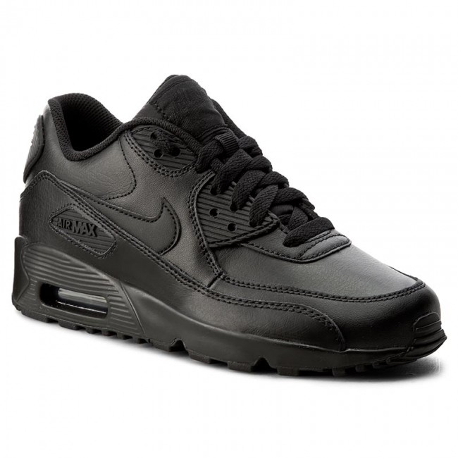 8d58a7702c5f Buty NIKE - Air Max 90 Ltr (GS) 833412 001 Black Black - Sneakersy ...
