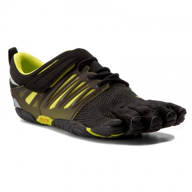 f579e584ac9be Buty VIBRAM FIVEFINGERS - V-Train 17M6602 Black/Green - Fitness ...