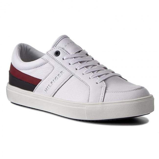 09b6d5bd89ade Sneakersy TOMMY HILFIGER - Moon 1C1 FM0FM00677 White 100 - Sneakersy ...