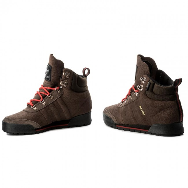 new concept af515 3ed2b Buty adidas - Jake Boot 2.0 BY4109 Brown Scarle Cblack