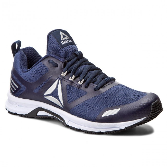 9d33a42f Buty Reebok - Ahary Runner BS8390 Navy/White/Pewter - Treningowe ...