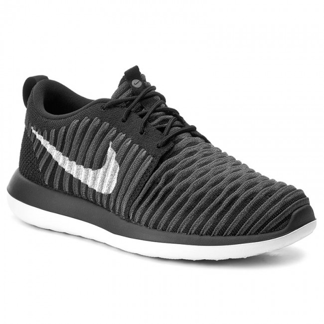 lowest price 4f622 e6afe Buty NIKE - Roshe Two Flyknit (GS) 844619 001 Black/White/Anthracite ...