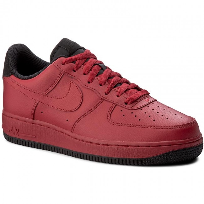 competitive price 1df02 6377c Buty NIKE - Air Force 1 07 315122 613 Gym RedBlack