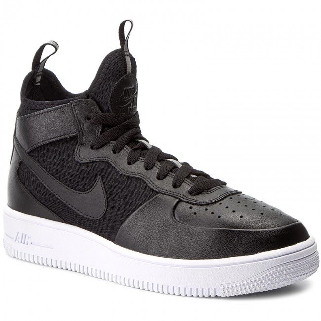 sale retailer 45b02 0f53e Buty NIKE - Air Force 1 Ultraforce Mid 864014 001 Black/Black/White ...