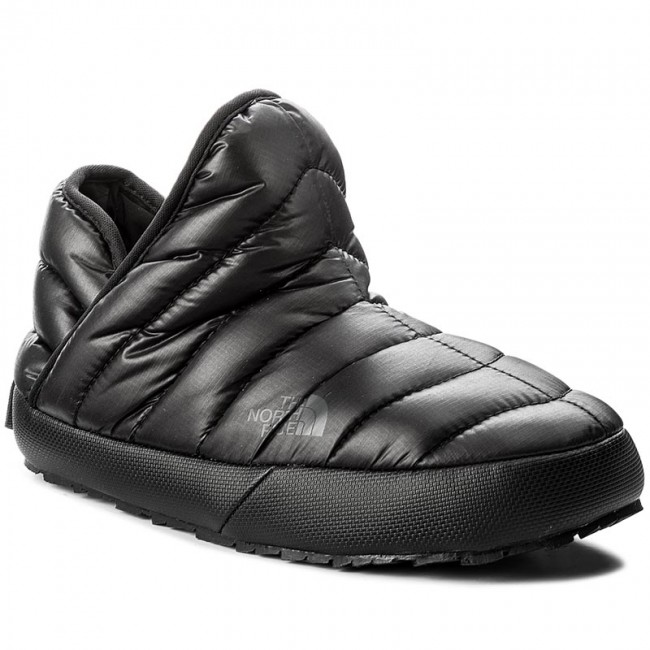 a3ae21bab6e90 Kapcie THE NORTH FACE - Thermoball Traction Bootie T933IHYWY-050 Shiny Tnf  Black/Beluga