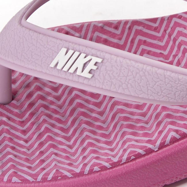 e893a43bd5157 Japonki NIKE - Wmns Solay Thong Print 882696 600 Pinkfire II/White/Iced  Lilac