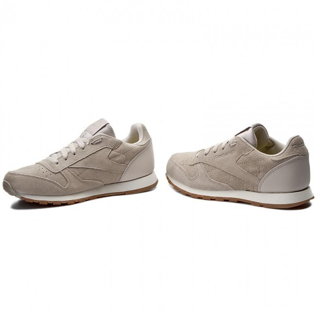 774ab2c440175 Buty Reebok - Cl Leather Sg BS8952 Sandstone Chalk Gum - Sneakersy ...