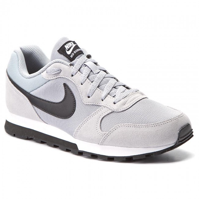 b544b7ad5f Buty NIKE - Md Runner 2 749794 001 Wolf Grey Black White - Sneakersy ...
