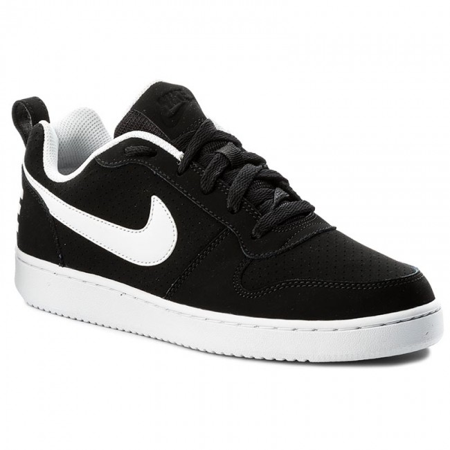 hot sale online fa71a 650e2 Buty NIKE - Court Borough Low 838937 010 Black/White - Sneakersy ...