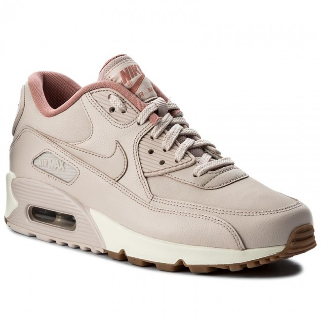 half off f13ae 91408 Buty NIKE - Wmns Air Max 90 Lea 921304 600 Silt Red Silt Red