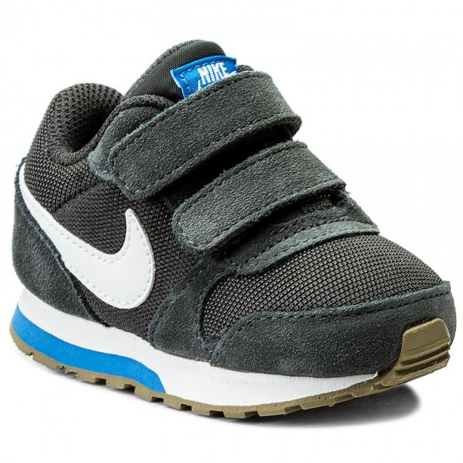 Buty NIKE - Md Runner 2 (TDV) 806255 007 Anthracite White Photo Blue ... 07db627f7ee