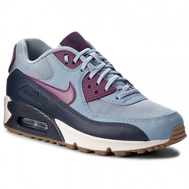 Buty NIKE Wmns Air Max 90 Essential 616730 403 Blue GreyBright Grape