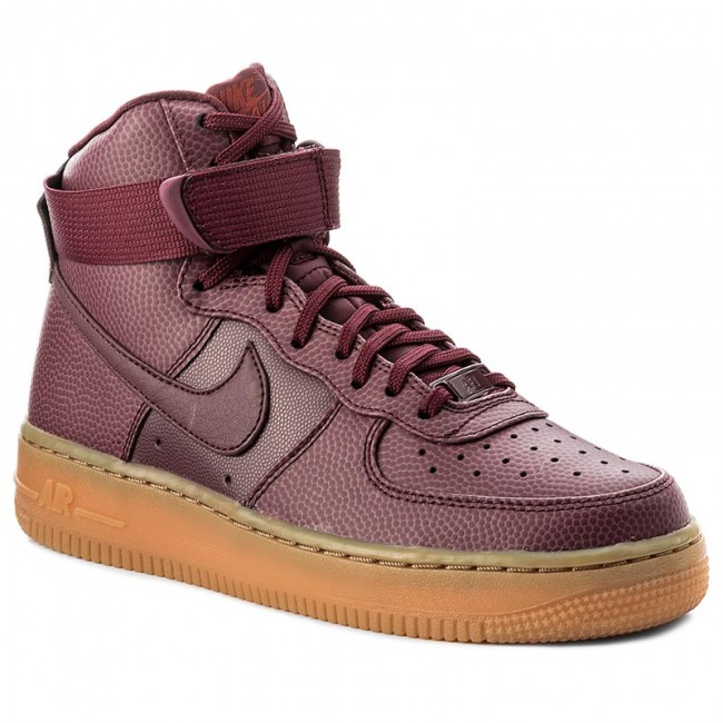 save off 2bb2a 5d4b9 Buty NIKE - Wmns Air Force 1 Hi Se 860544 600 Night Maroon/Night Maroon