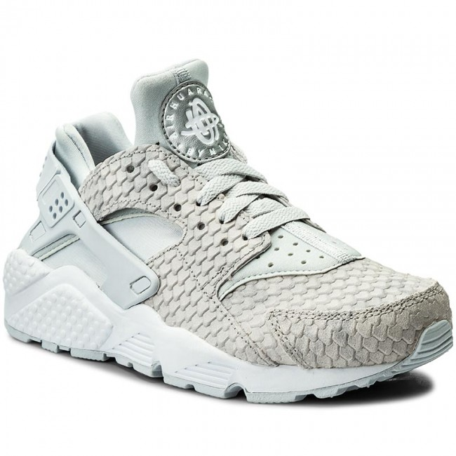best authentic 1cd06 1e313 Buty NIKE - Wmns Air Huarache Run Prm 683818 014 Pure Platinum/Pure Platinum