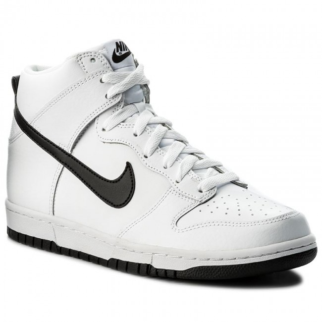 various colors 39a46 e525a Buty NIKE - Dunk Hi 904233 103 WhiteBlack