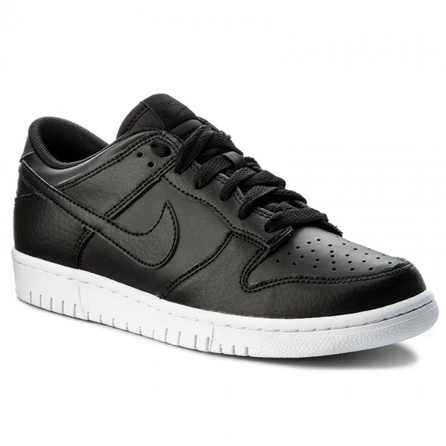 new style 3a00a ab2d5 Buty NIKE - Dunk Low 904234 003 BlackBlackWhite