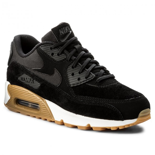 the latest 387bb f0659 Buty NIKE - Wmns Air Max 90 Se 881105 003 BlackBlackGum Light