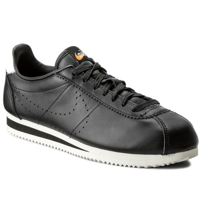 sneakers for cheap 87c8d 8a3bf Buty NIKE - Classic Cortez Leather Prem 861677 005 Black Black Lt Orewood  Brn
