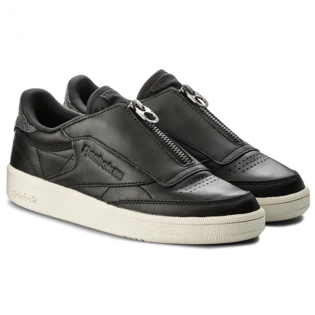 Shoes Reebok Club C 85 Zip M CN0140 BlackChalk