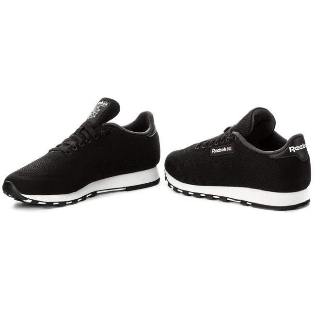 75f0d39ff9f7a Buty Reebok - Cl Leather Ultk CM9876 Black White - Sneakersy ...