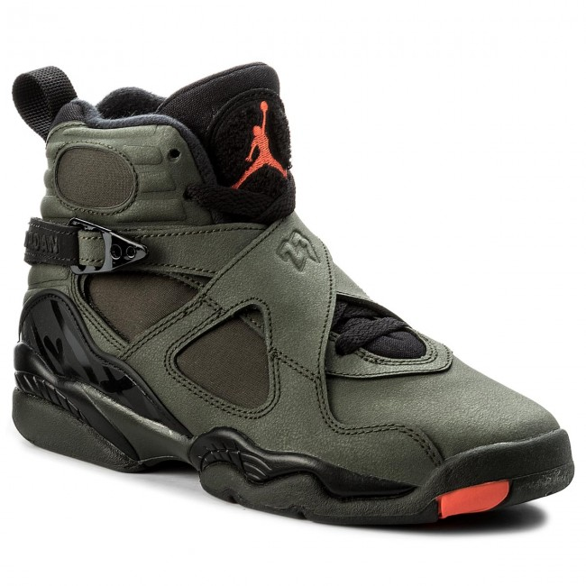 buy popular ec02b 703c3 Buty NIKE - Air Jordan 8 Retro BG 305368 305 Sequoia Max Orange Black