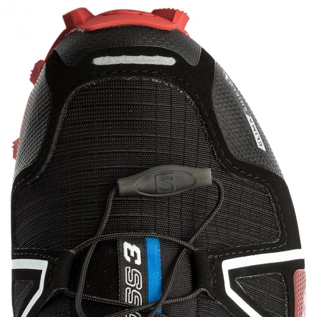 Buty SALOMON Spikecross 3 Cs 383154 27 G0 BlackRadiant RedWhite
