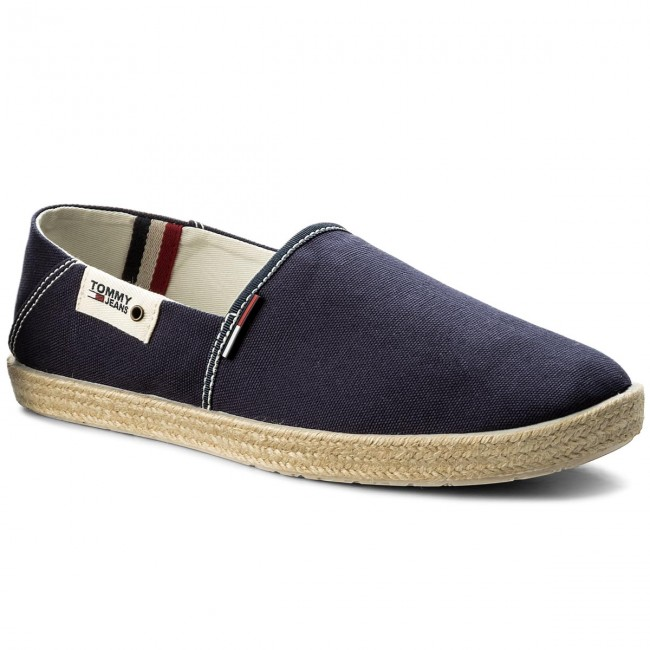 62f84cb04018b Espadryle TOMMY JEANS - Summer Slip On Shoe EM0EM00027 Ink 006 ...