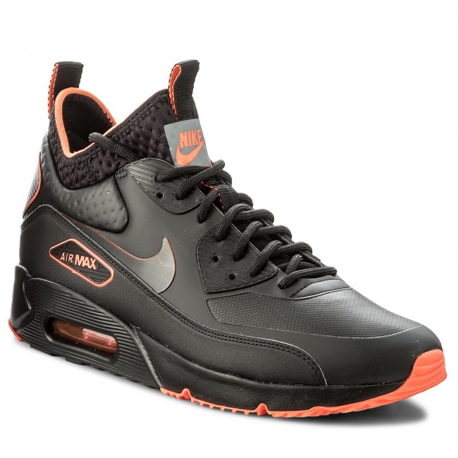 1a1ce333f5 Buty NIKE - Air Max 90 Ultra Mid Winter Se AA4423 001 Black/Black Total