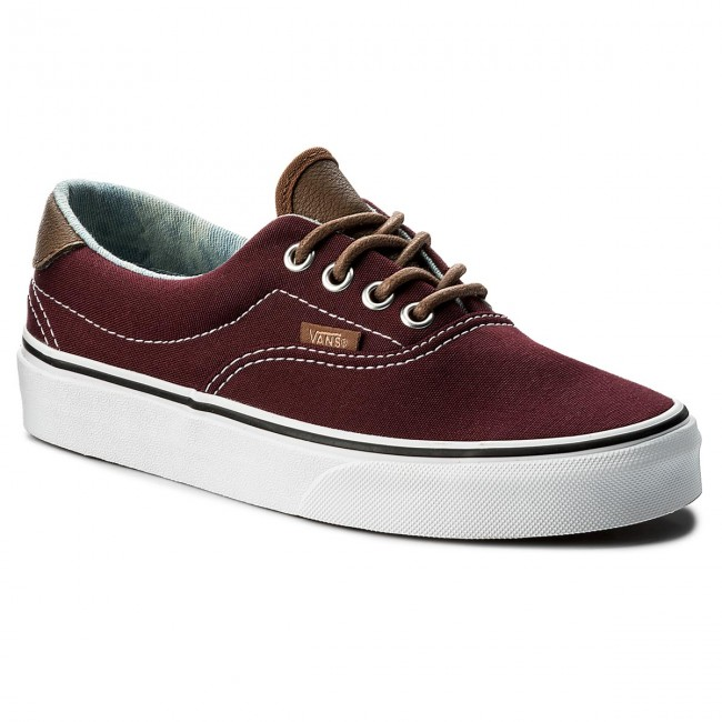 vans era bordowe