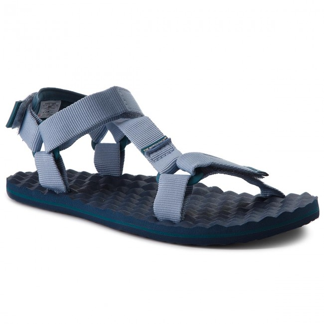 d05d56a9dfcb5 Sandały THE NORTH FACE - Base Camp Switchback Sandal T92Y984FL Dusty  Blue/Blue Coral