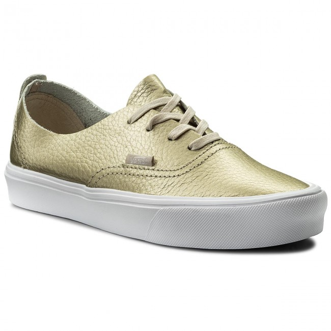 vans authentic złote