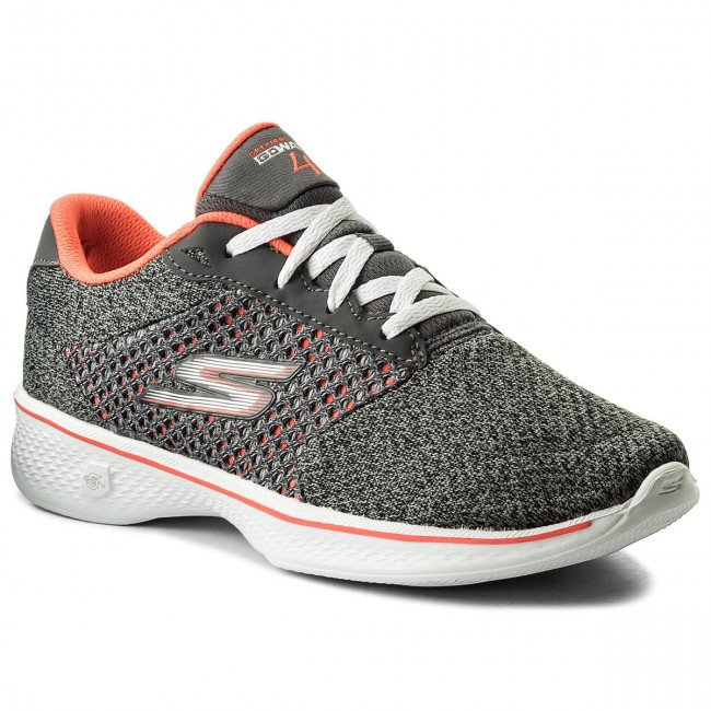 cfd02f9b17eee Buty SKECHERS - Exceed 14146/CCCL Charcoal/Coral - Fitness ...