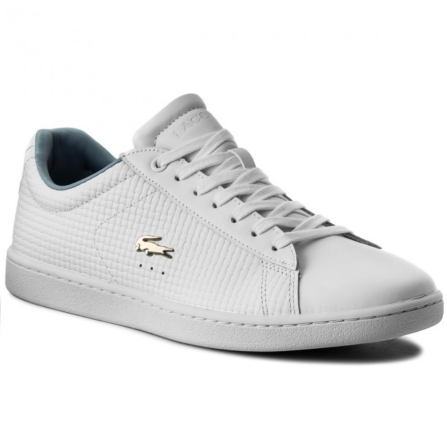 96150c0c0a174 Sneakersy LACOSTE - Carnaby Evo 118 5 Spw 7-35SPW00121T3 Wht/Lt Blu ...