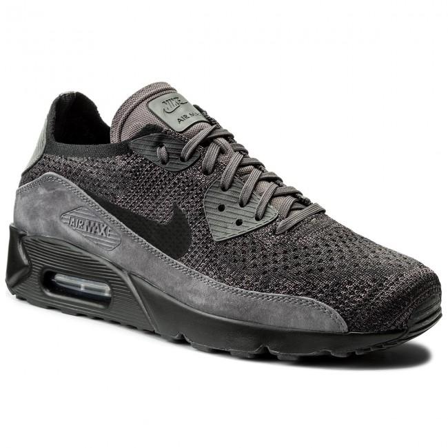 92e3fbc6746d3 Buty NIKE - Air Max 90 Ultra 2.0 Flyknit 875943 008 Thunder Grey/Black Dark