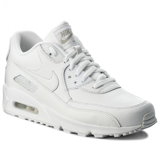 official photos 59345 a69a0 Buty NIKE - Air Max 90 Leather 302519 113 True WhiteTrue White