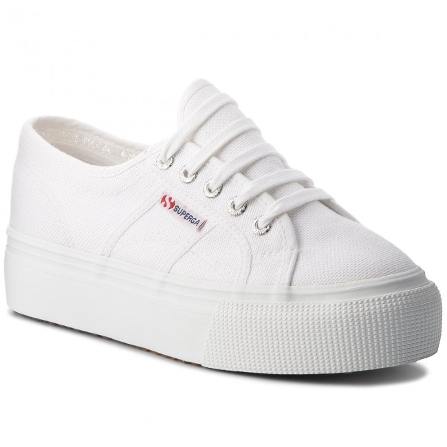 4796cca9a1 Tenisówki SUPERGA - 2790 Acotw Linea Up And Down S0001L0 White 901 ...