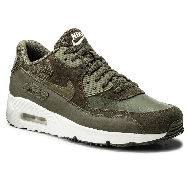 New Men's Nike Air Max 90 Ultra 2.0 Ltr Shoes (924447-300) Cargo Khaki/Med Olive