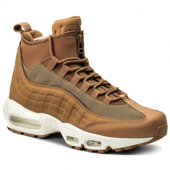 super popular d6e42 ee421 Buty NIKE - Air Max 95 Sneakerboot 806809 201 Flax/Flax/Ale Brown ...
