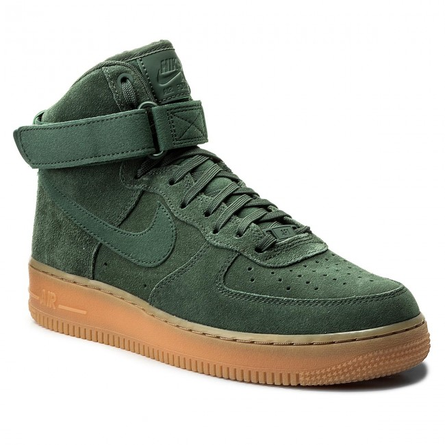 new styles 61ae0 b52a2 Buty NIKE - Air Force 1 High 07 LV8 Suede AA1118 300 Vintage Green
