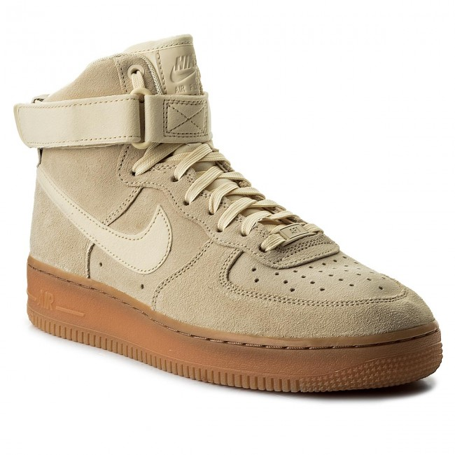 buy online 02878 fd1c3 Buty NIKE - Air Force 1 High AA1118 100 MuslinMuslinGum Med Brown