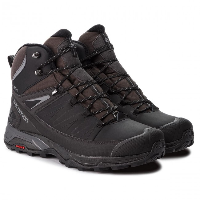 Trekkingi SALOMON X Ultra Mid Winter Cs Wp 404795 31 V0 BlackPhantomQuiet Shade
