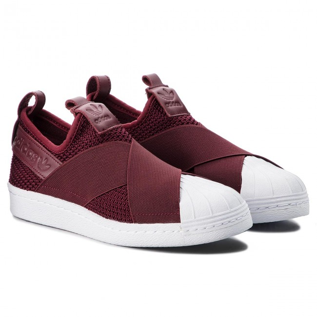 Buty adidas Superstar Slip On W B37371 RednitRednit