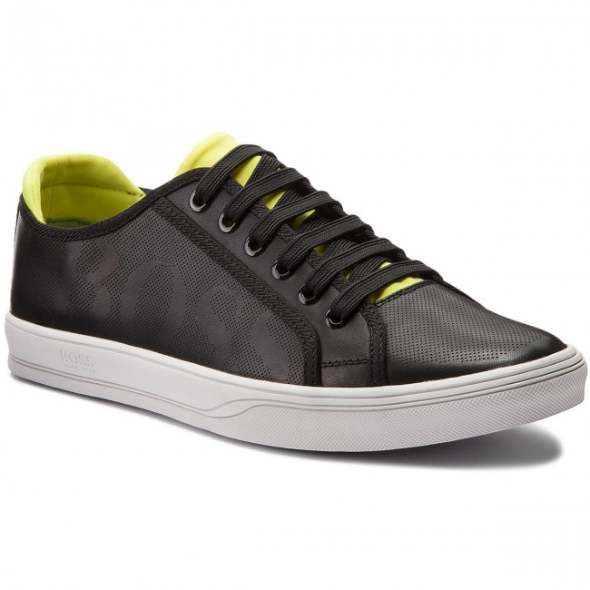 218abd43 Sneakersy BOSS - Attitude 50385618 10207038 01 Charcoal 010 ...